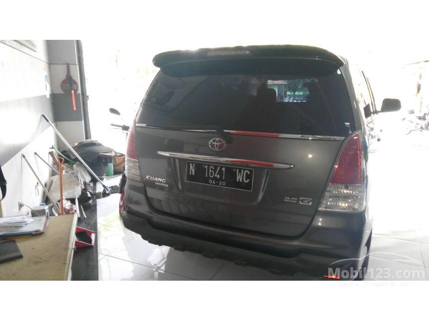 Jual Mobil Toyota Kijang Innova 2010 G 2.0 di Jawa Timur ...