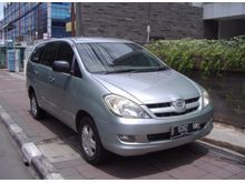 2005 Toyota Kijang Innova 2.0 G MPV Manual An Pribadi Km 98 rb Stnk Baru Mulai Dipakai Januari 2006 Light Green Metalik