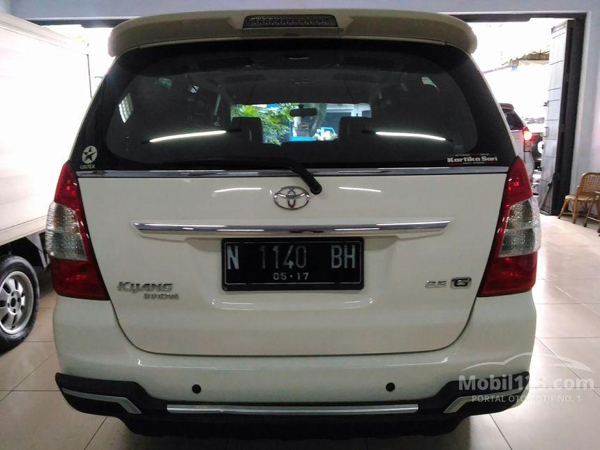 Toyota Kijang Innova 2012 G 2.5 di Jawa Timur Manual MPV ...
