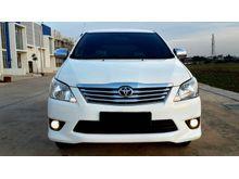 Toyota Kijang Innova 2.0 G AT 2013 Pemakaian pribadi