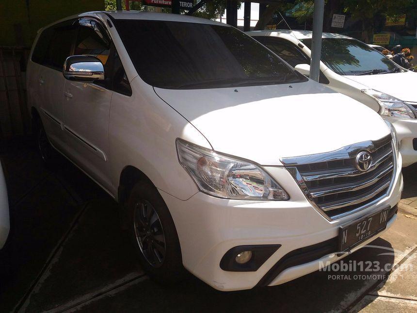 Jual Mobil Toyota Kijang Innova 2014 G 2.5 di Jawa Timur ...