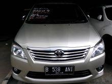 2012 Toyota Kijang Innova 2,5 G