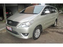 2012 Toyota Kijang Innova 2.5 G MPV Km rendah, mulus, kondisi prima