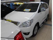 2012 Toyota Kijang Grand Innova 2.0 G Automatik Tangan Pertama Km 70 rb Kondisi mulus Putih