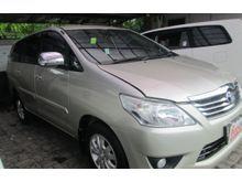 2012 Toyota Kijang Innova 2.5 G interior bersih dan rapih