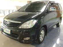 Toyota Innova G Diesel Plat W 2009 Hitam Ac Dobel
