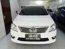 Toyota Kijang Innova 2.5 G AT 2012, Full Ori, Jarang pakai
