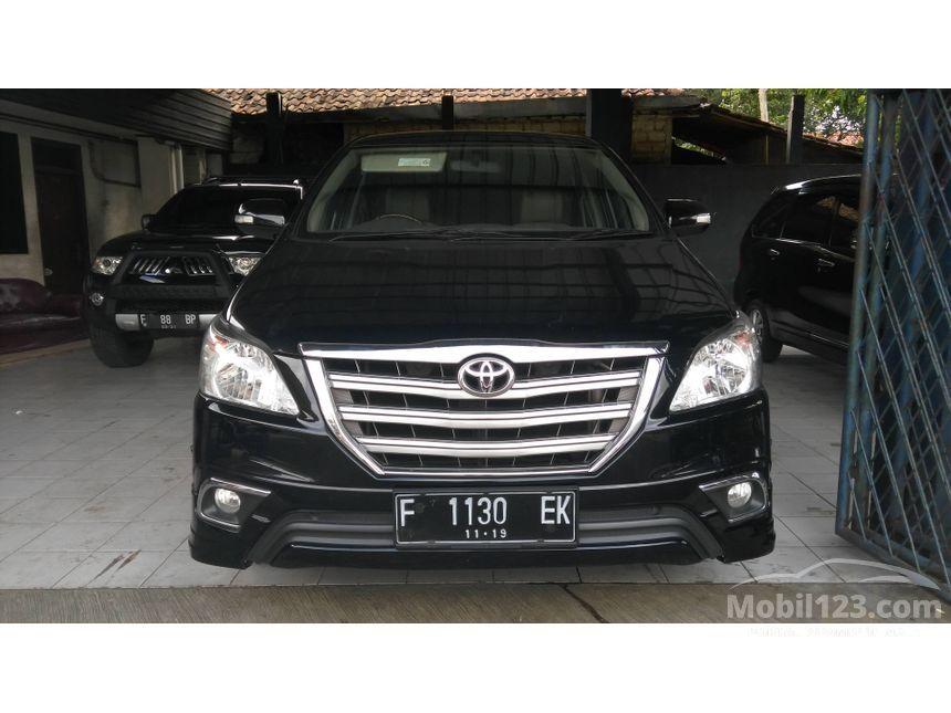 2014 Toyota Kijang Innova V Luxury MPV