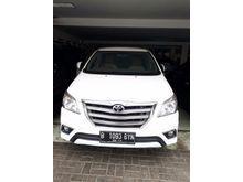2014 Toyota Kijang Innova 2.5 V Automatic putih muluzz MPV