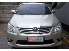 2012 Toyota Kijang Innova 2.5 V Pajak Panjang Kondisi Rapih