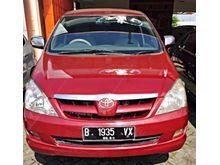 Toyota Kijang Innova 2.0 V 2005 MT merah metalik , ANTIK , GESIT IRIT , TDP SUPER HEMAT 10 JTAN