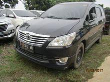 [Lelang] 2012 Toyota Kijang Innova 2,0 V