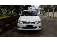 Jual Murah 2012 Toyota Kijang Innova 2.5 V MPV Putih
