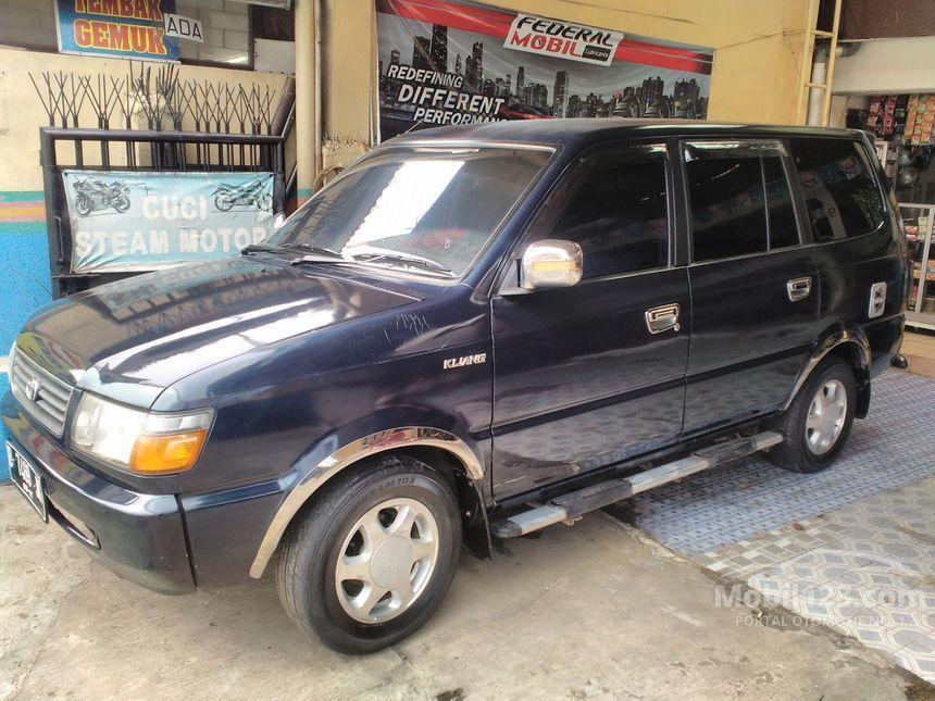 Toyota Kijang 1997 LGX 1.8 di DKI Jakarta Manual MPV Biru ...
