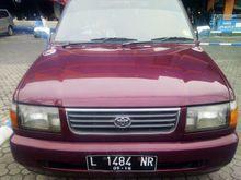 1998 Toyota Kijang 1.8 LGX MPV merah maroon