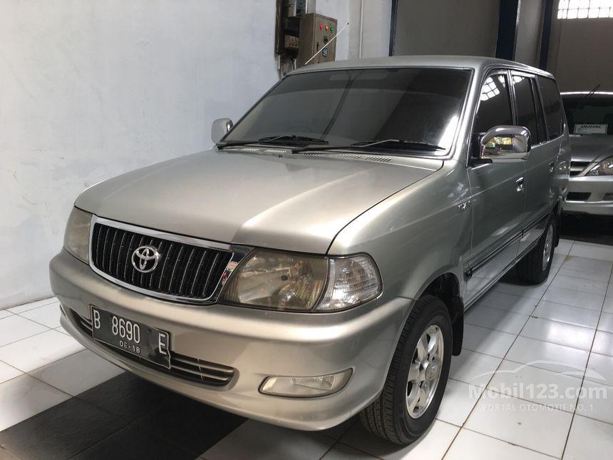 Jual Mobil Toyota Kijang 2003 LGX 1.8 di Jawa Barat Manual ...