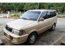 2001 Toyota Kijang LGX 2.5 MPV Minivans Diesel