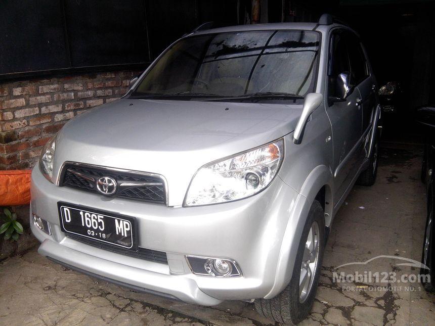Jual Mobil Toyota Rush 2010 S 1 5 Di Jawa Barat Manual Suv
