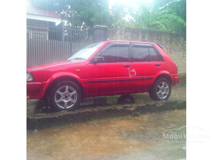 Toyota Starlet 1987 1 3 Di Jawa Barat Manual Compact Car
