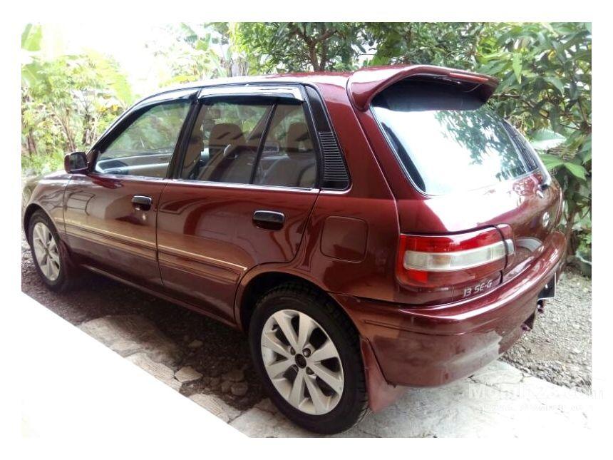 toyota starlet 1995 1 3 di jawa barat manual compact car city car marun rp 3741846. Black Bedroom Furniture Sets. Home Design Ideas