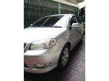 Toyota Vios 1.5 G 2004 Bukan bekas Taxi plat AB Sedan