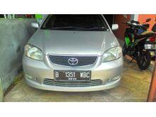 2003 Toyota Vios 1.5 G Sedan pemakaian 2004, istimewa, terawat, pajak idup