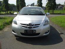 Toyota Vios 1.5 G Matic 2008 Super Istimewa Kilometer Rendah Original Luar Dalam