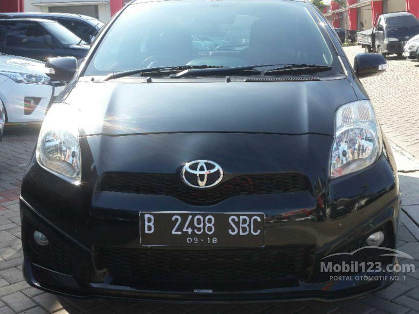 Toyota Yaris 2013 1 5 Di Banten Automatic Compact Car City