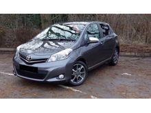 2013 Toyota Yaris 1.3 Compact Car City Car
