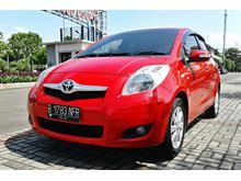 Toyota Yaris 1.5 E 2010 AT merah , sangat istimewa , Good condition
