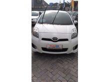 2012 Toyota Yaris 1.5 E Putih Elegan