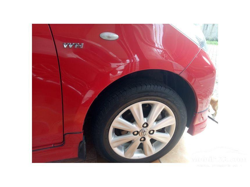 Toyota Yaris 2013 E 15 Di Banten Manual Merah Rp 138000