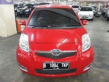 2010 Toyota Yaris 1.5 J Automatic Merah Tangan 1 Pajak Panjang KM 60rb Record