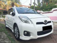 2012 Toyota New Yaris S Limited Facelift PUTIH Istimewa terawat
