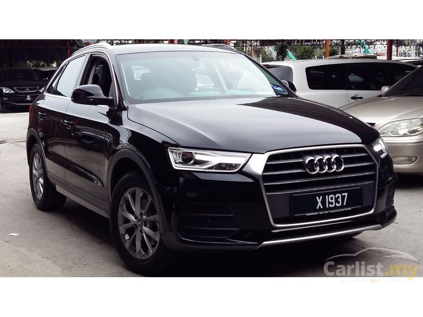 audi q3 2017 tfsi 1 4 in kuala lumpur automatic suv black for rm 178 800 3664190. Black Bedroom Furniture Sets. Home Design Ideas
