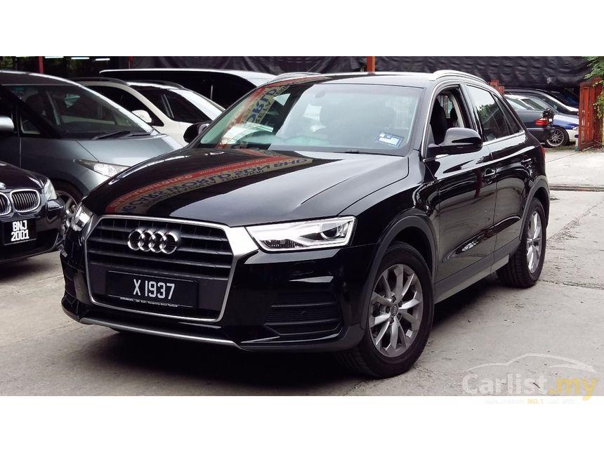 Audi Q3 2017 TFSI 1.4 in Kuala Lumpur Automatic SUV Black for RM 178,800 - 3664190 - Carlist.my