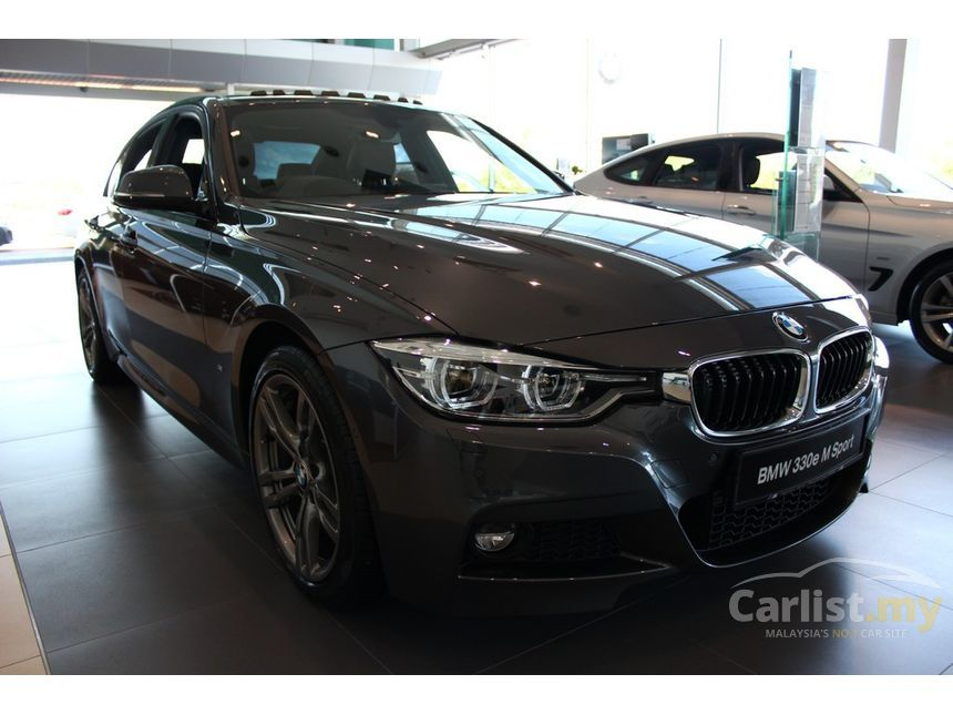 bmw 330e 2017 m sport 2 0 in selangor automatic sedan grey for rm 258 800 3504779. Black Bedroom Furniture Sets. Home Design Ideas