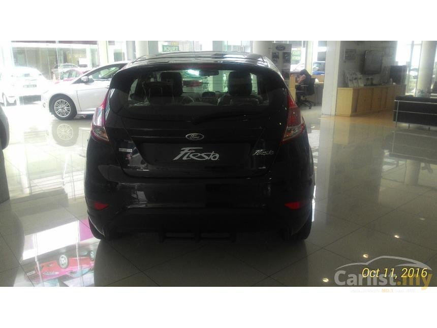 2016 Ford Fiesta Ecoboost Hatchback