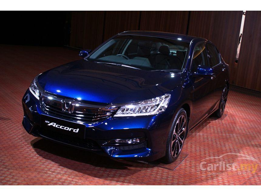 2017 Honda Accord I Vtec Vti L Sedan
