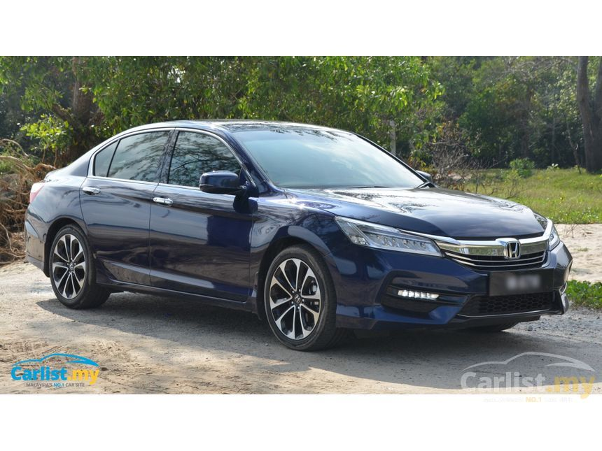 honda accord 2017 vti l 2 4 in labuan automatic sedan blue for rm 173 200 3769244. Black Bedroom Furniture Sets. Home Design Ideas