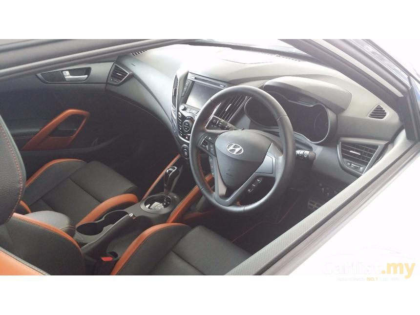 2015 Hyundai Veloster Turbo Hatchback