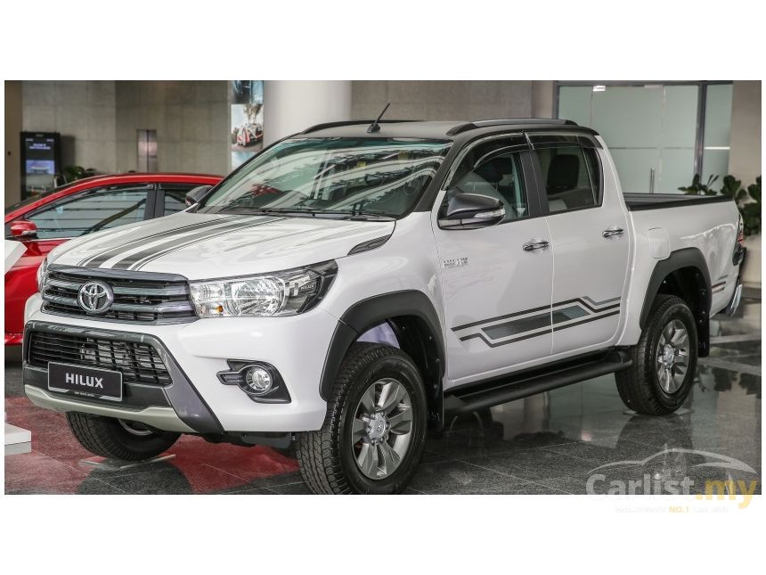 toyota hilux 2017 g 2 4 in kuala lumpur automatic pickup truck white for rm 89 900 3698823. Black Bedroom Furniture Sets. Home Design Ideas