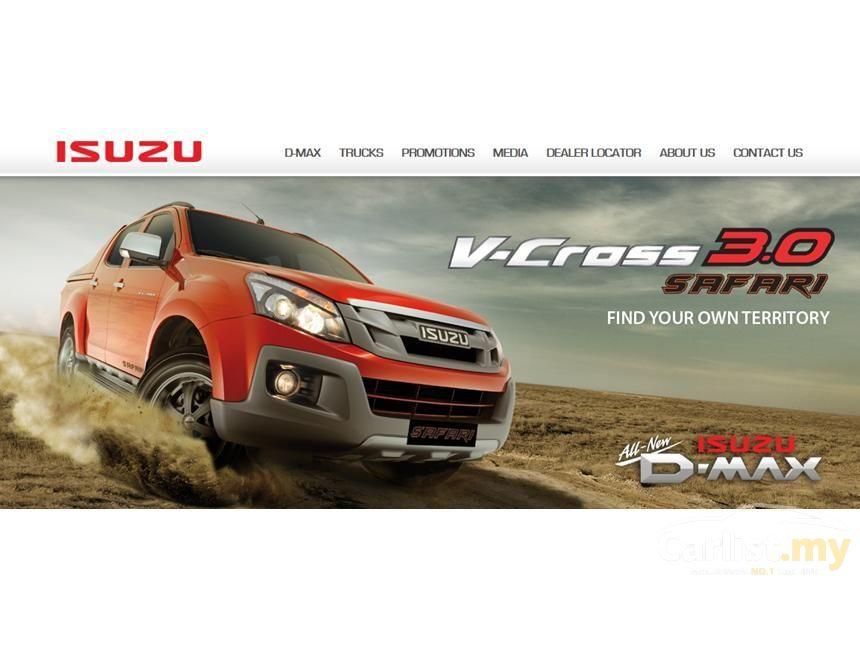 2015 Isuzu D Max V Cross Pickup Truck