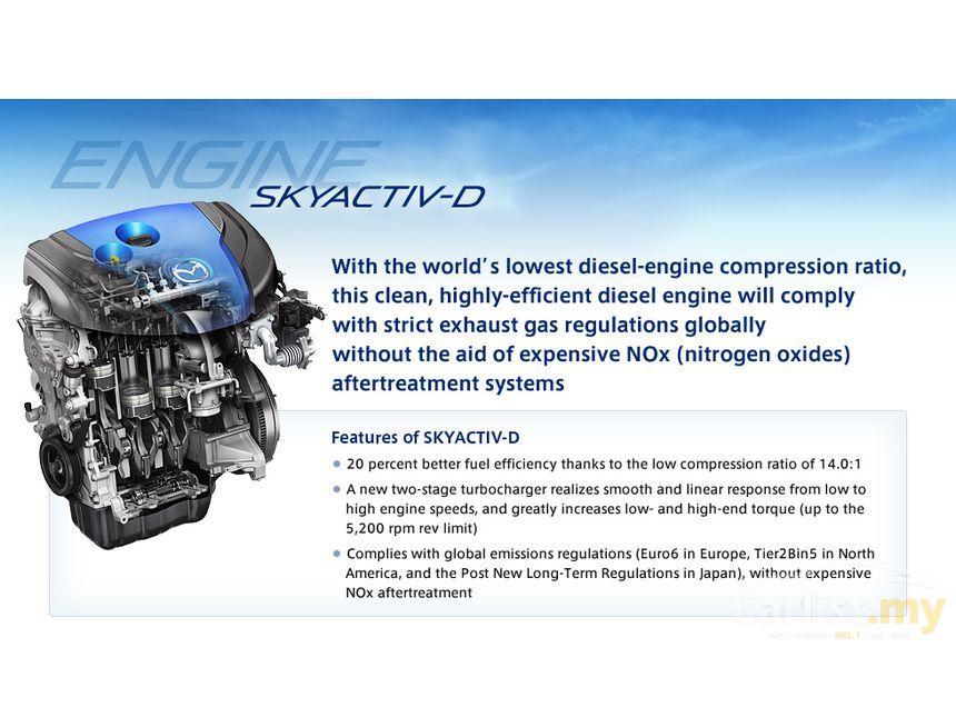 mazda 6 2016 skyactiv-d 2.2 in selangor automatic sedan red for rm