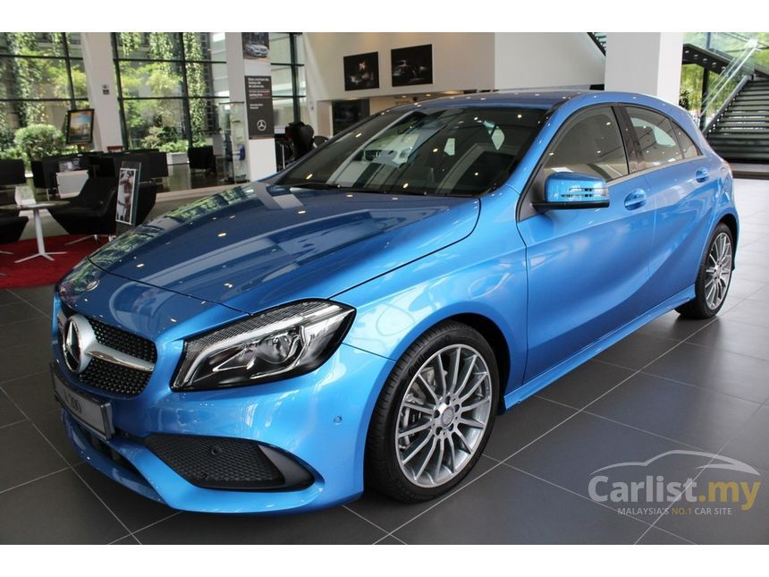 Amg Auto Sales >> Mercedes-Benz A200 2017 AMG 1.6 in Selangor Automatic Hatchback Blue for RM 208,888 - 3494491 ...