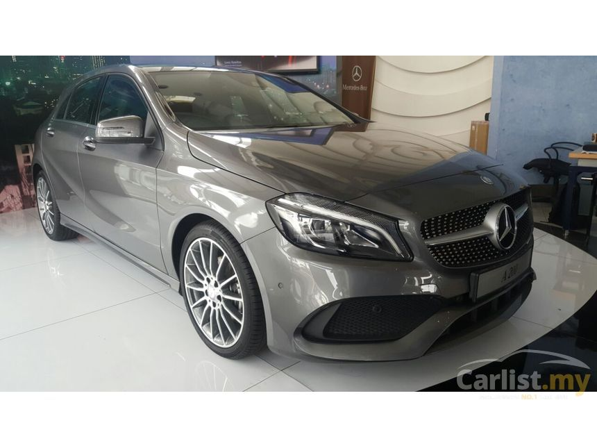mercedes benz a200 2017 amg 1 6 in kuala lumpur automatic hatchback grey for rm 206 888. Black Bedroom Furniture Sets. Home Design Ideas