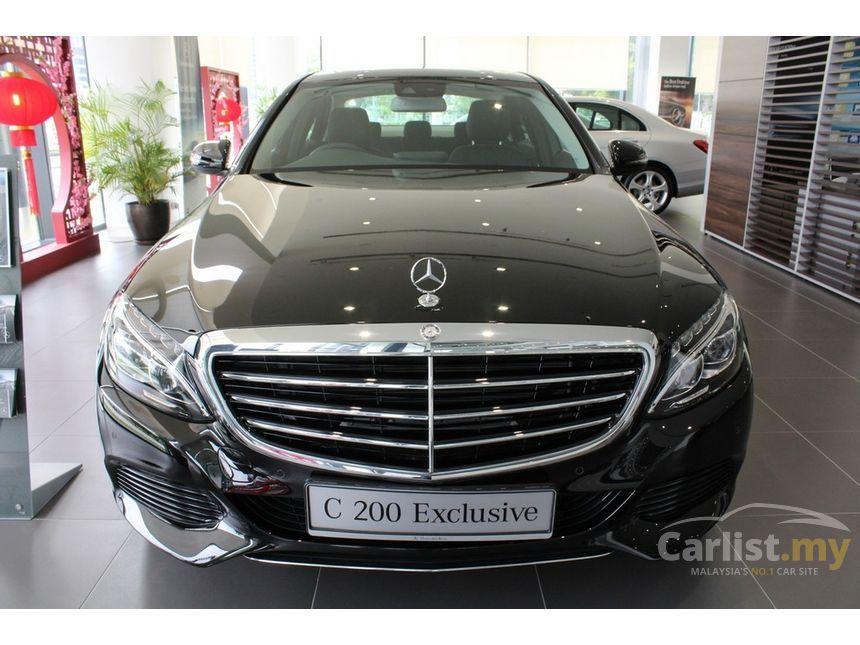 Mercedes C180 2017 >> Mercedes-Benz C200 2017 Avantgarde 2.0 in Kuala Lumpur Automatic Sedan Black for RM 257,888 ...