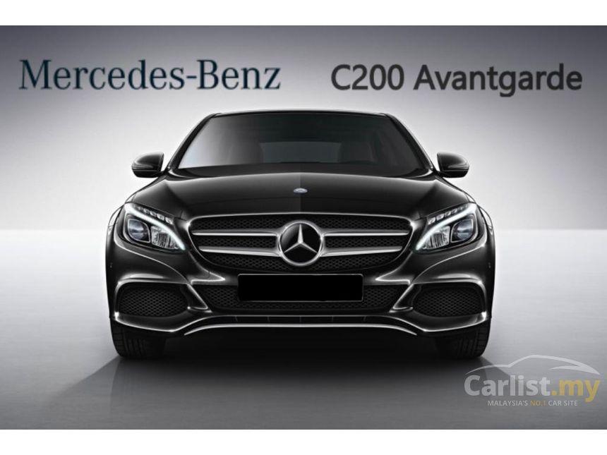 mercedes benz c200 2017 avantgarde 2 0 in selangor automatic sedan others for rm 248 888. Black Bedroom Furniture Sets. Home Design Ideas