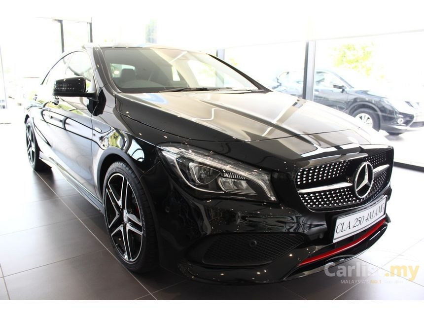 mercedes benz cla250 2017 4matic 2 0 in selangor automatic