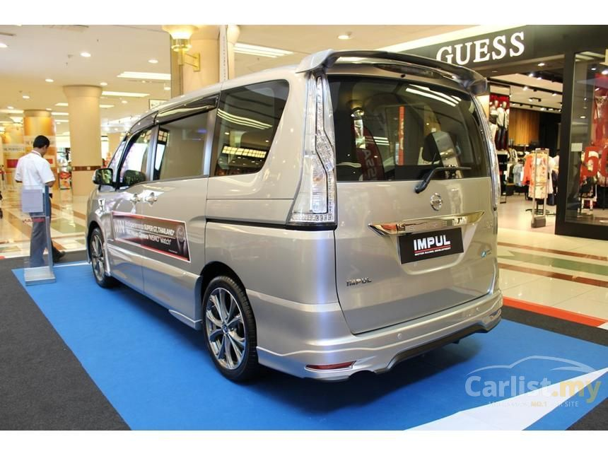 Nissan Serena 2016 S-Hybrid High-Way Star 2.0 Automatic ...